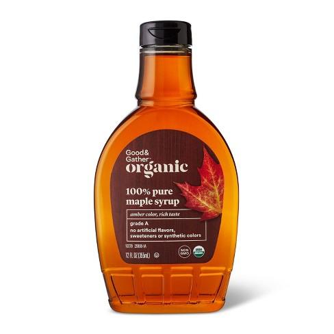 Organic Maple Syrup - 12oz - Good & Gather™ - image 1 of 2