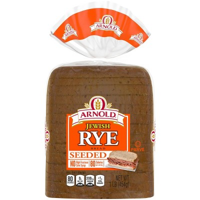 Arnold Seeded Jewish Rye Bread - 16oz
