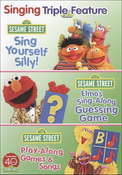 Sesame Street:Sing And Play Triple Fe (DVD) - image 1 of 1