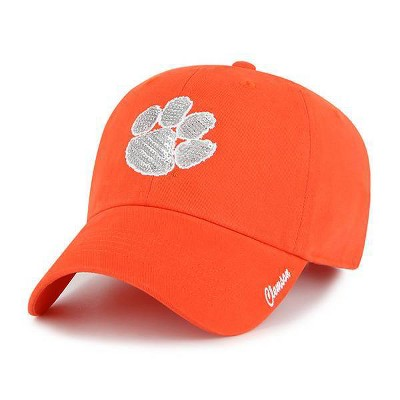 NCAA Clemson Tigers Women's Brushed Cotton Relaxed Fit Hat