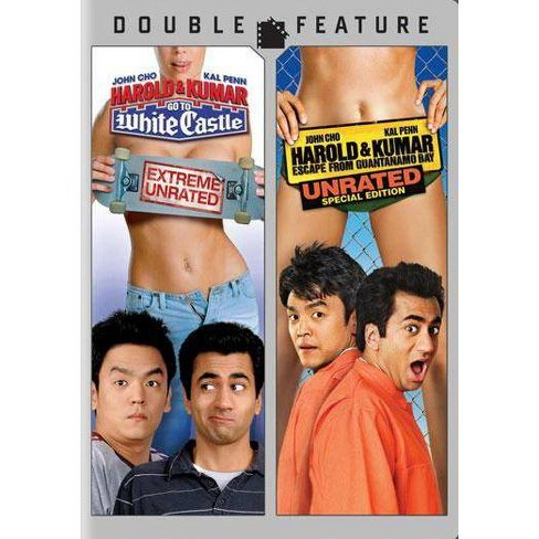 Harold Kumar Go To White Castle Escape From Guantanamo Bay Dvd 2010 Target