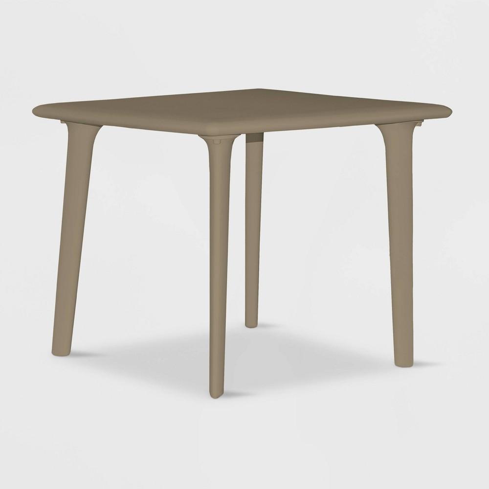 Image of New Dessa Square Patio Table - Gray - RESOL