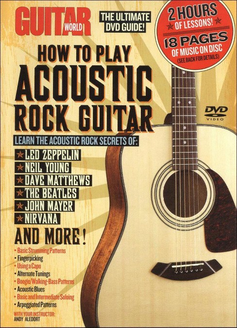 Guitar world:How to play acoustic roc (DVD) - image 1 of 1