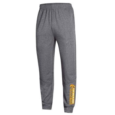 NCAA Iowa Hawkeyes Men's Athletic Jogger Pants