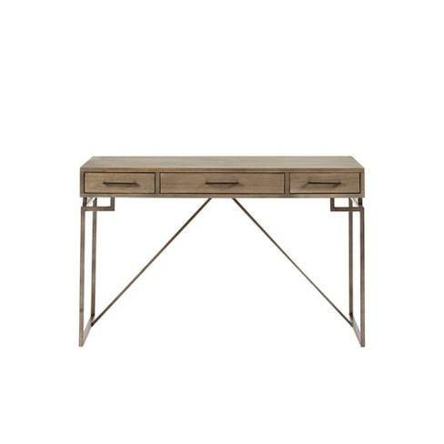 Hickory Writing Desk Wood - image 1 of 4