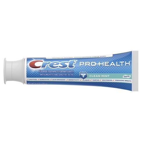 פנטסטי Crest Pro-Health Smooth Formula Toothpaste Clean Mint Paste - 4.6 RR-62