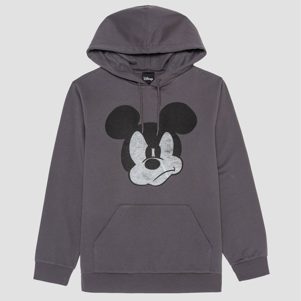 Image of Men's Mickey Mouse & Friends Graphic Sweatshirt - Ceramic Gray L, Size: Large