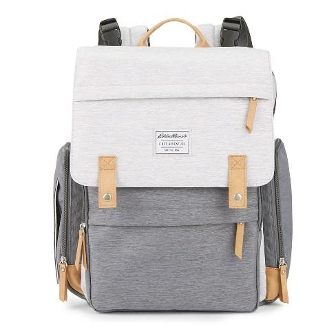 Ed Bauer Backpack Gray Tan Target
