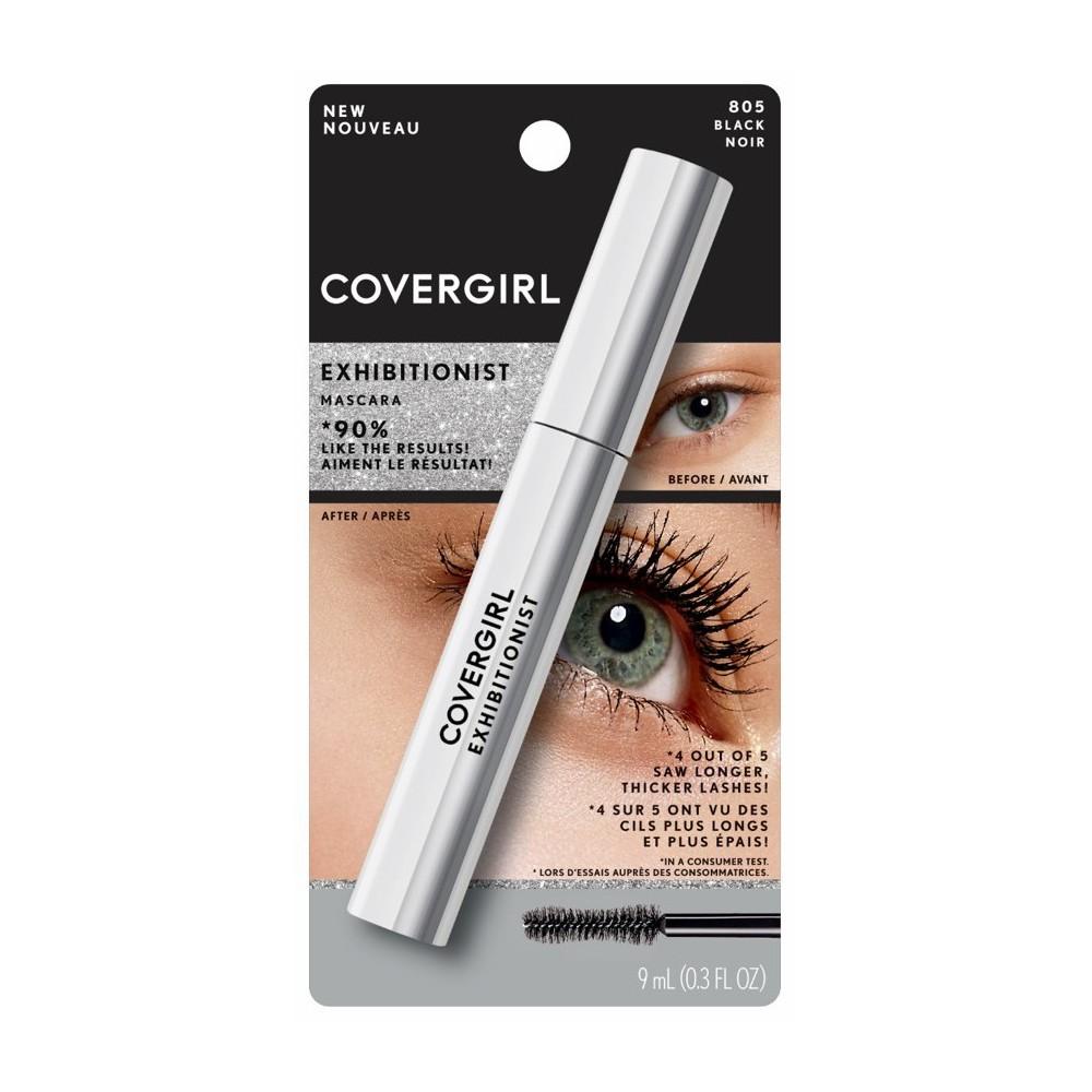 Image of COVERGIRL Exhibitionist Waterproof Mascara 805 Black - 1.15 fl oz