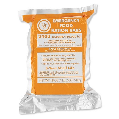 UST Emergency Food Ration Bars