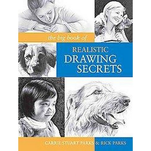 big book of realistic drawing secrets easy techniques for drawing