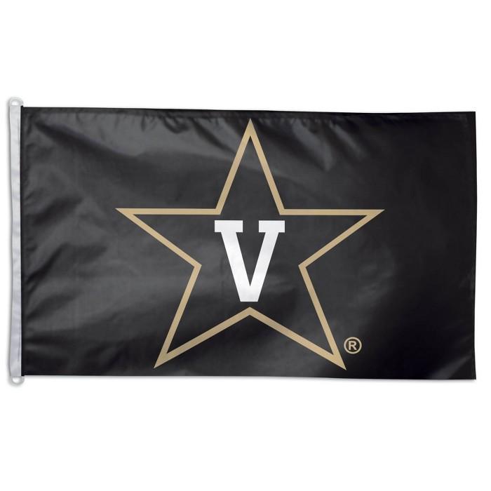 NCAA Vanderbilt Commodores 3'x5' Deluxe Flag - image 1 of 1