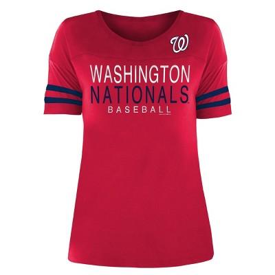 MLB Washington Nationals Women's Poly Rayon T-Shirt