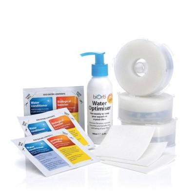 biOrb Service Kit 3 Plus Water Optimiser Aquarium Water Conditioner - White