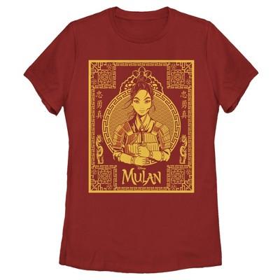 Women's Mulan Ornate Poster T-Shirt