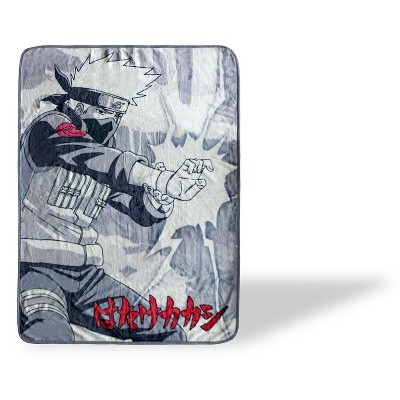 Just Funky Naruto Kakashi Hatake Large Throw Blanket   Anime Blanket   60 x 45 Inches
