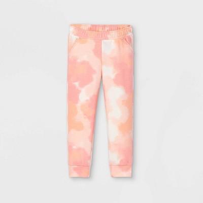 Toddler Girls' Tie-Dye Jogger Pants - Cat & Jack™ Pink