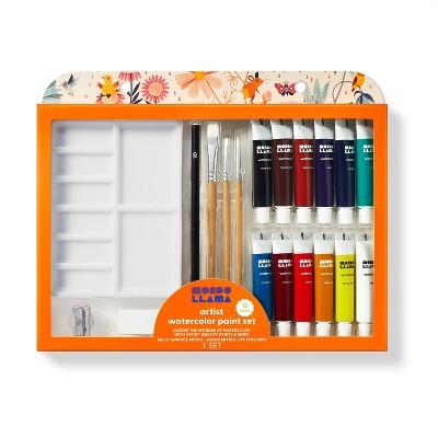 20pc Artist Watercolor Paint Set - Mondo Llama™