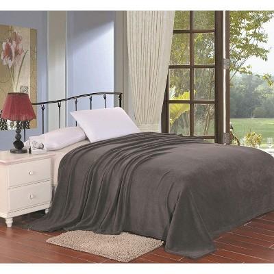 Super Plush Comfy Solid Microplush Blanket