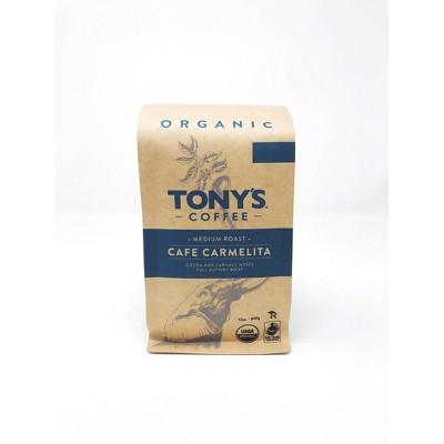 Tony'sCafé Carmelita Medium Roast Ground Coffee - 12oz