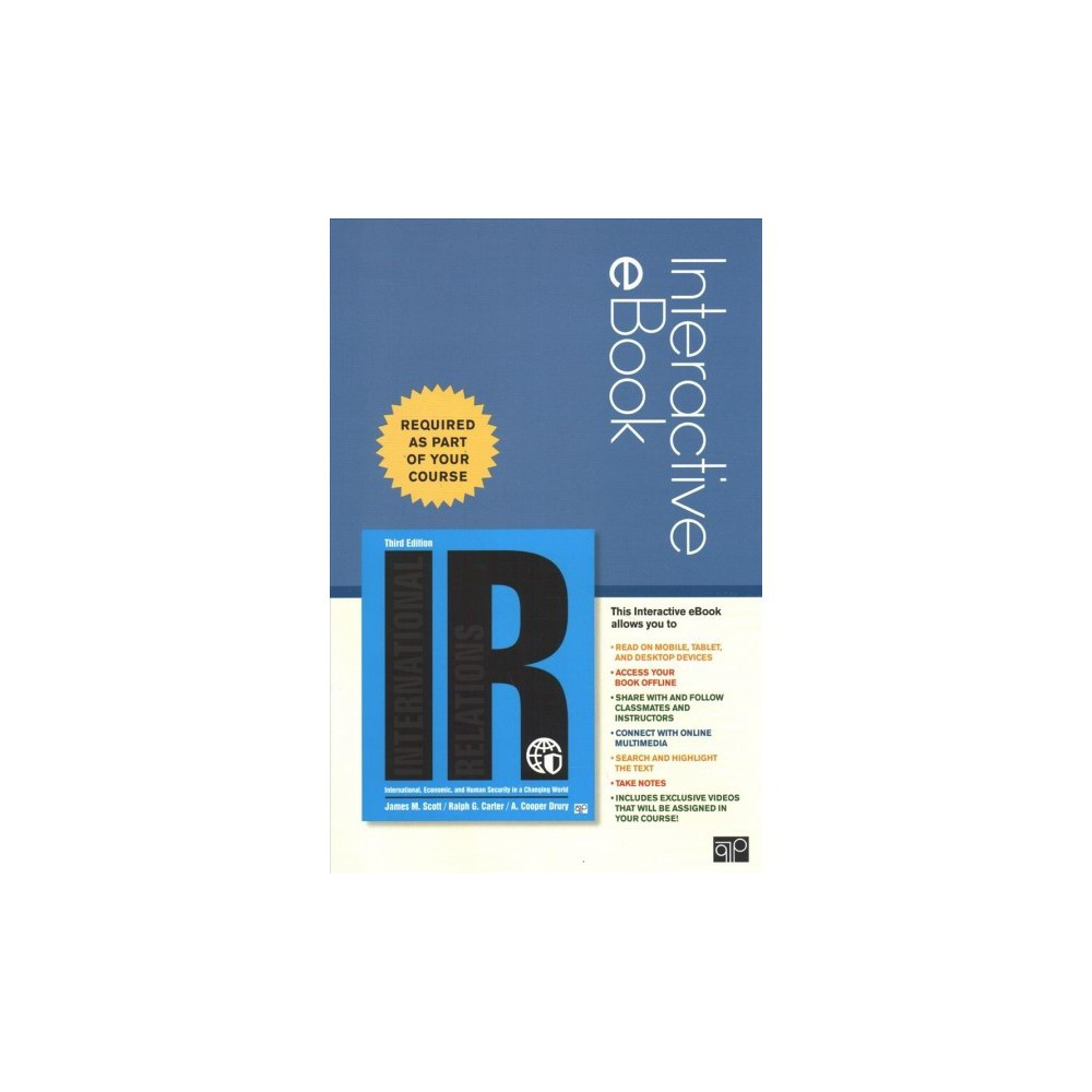 IR Interactive Ebook Access Code : International, Economic, and Human Security in a Changing World - Psc