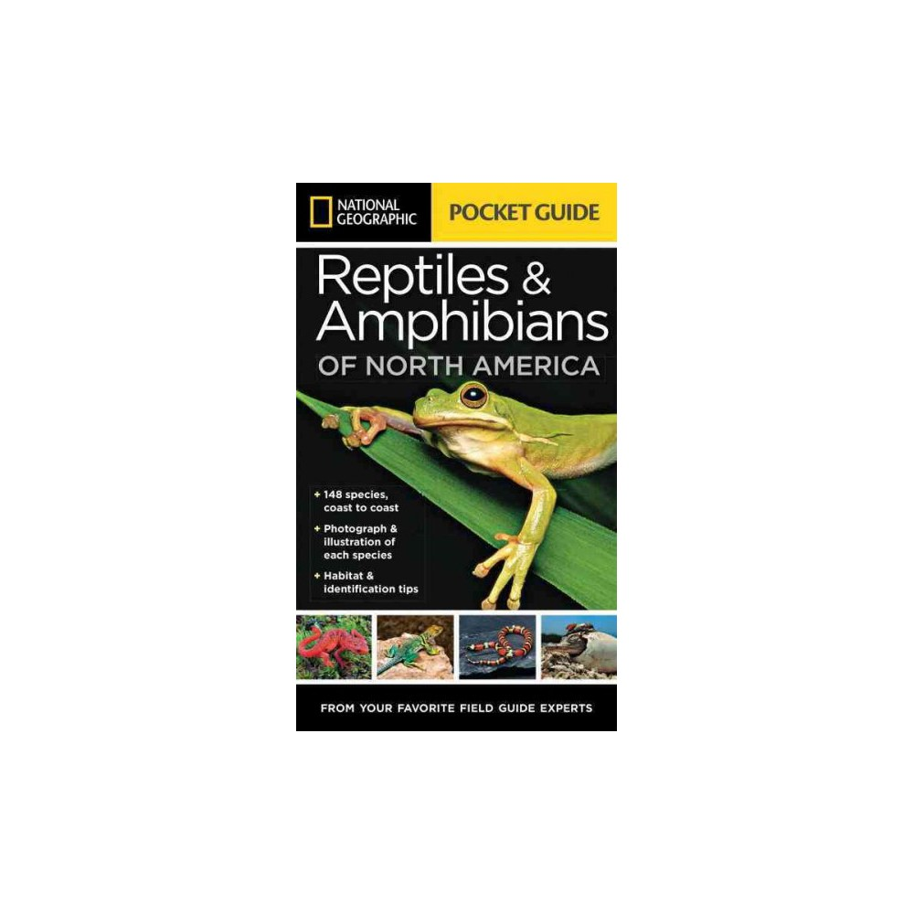 National Geographic Pocket Guide to Reptiles & Amphibians of North America (Paperback) (Catherine