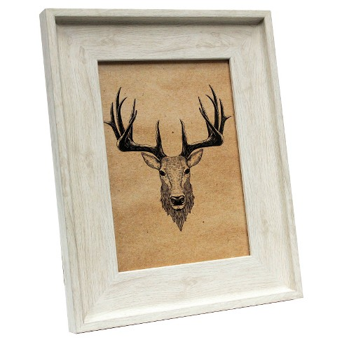 8 Ivory Wood Tone Frames Target