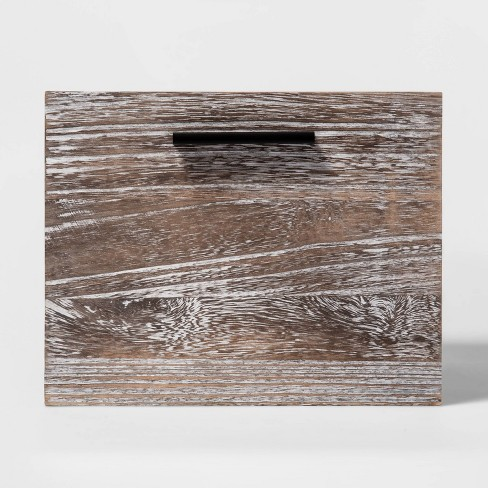 "Small Decorative Wood Crate 8""x11"" - Project 62™ - image 1 of 3"