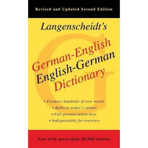 Langenscheidt's German-English Dictionary - 2 Edition (Paperback) - image 1 of 1