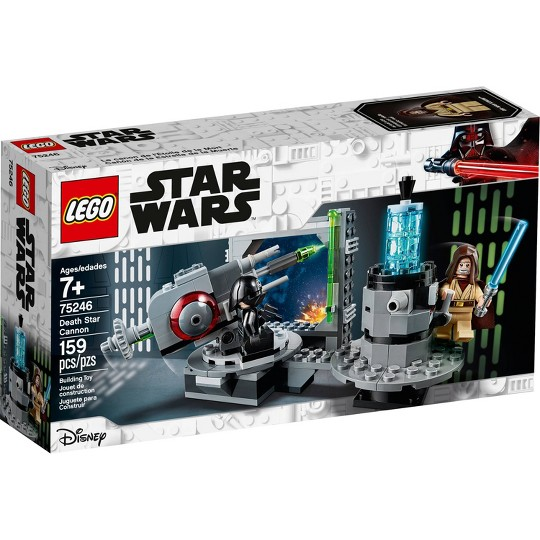LEGO Star Wars: A New Hope Death Star Cannon 75246 Advanced Building Kit with Death Star Droid image number null
