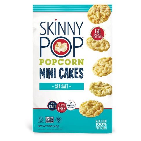 SkinnyPop Sea Salt Popcorn Mini Cakes - 5oz - image 1 of 3