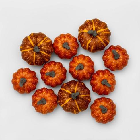 Decorative Foam Pumpkin Vase Filler Orange - Threshold™ - image 1 of 4