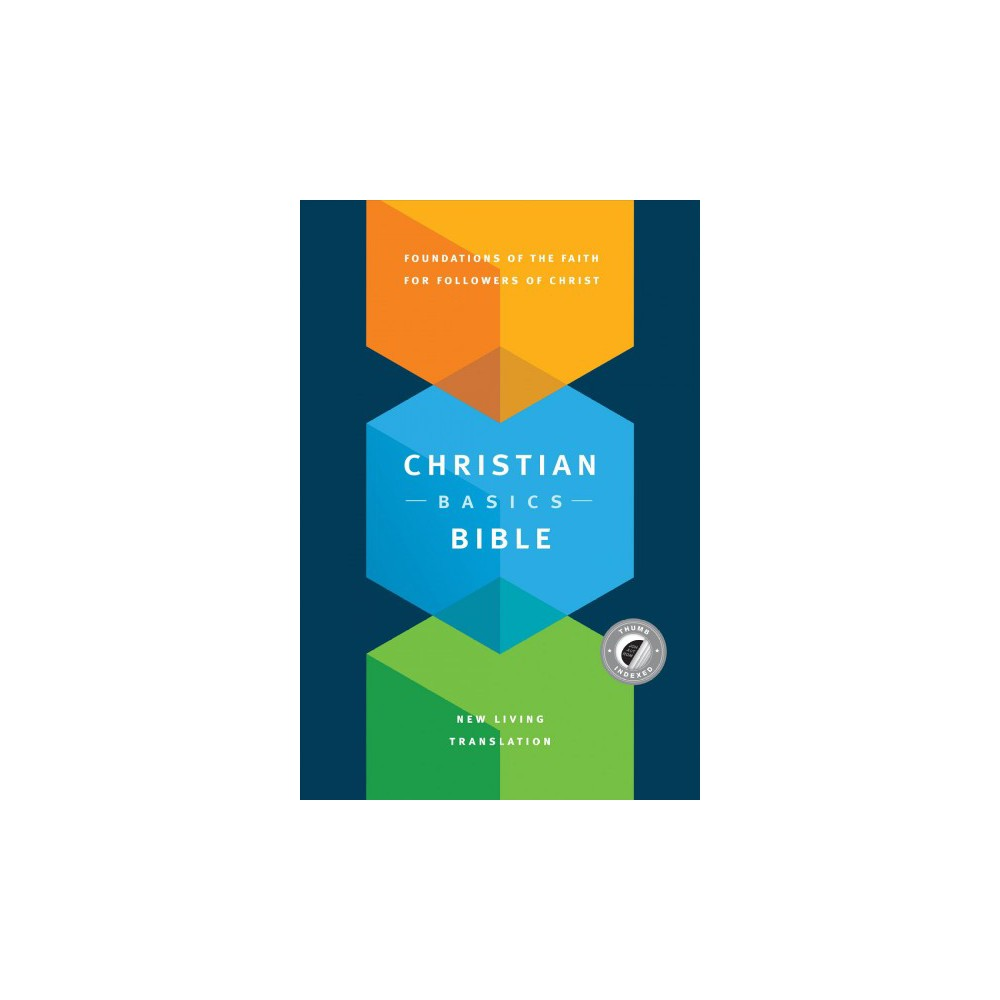 Holy Bible : The Christian Basics Bible, New Living Translation (Hardcover) (Martin H. Manser & Michael