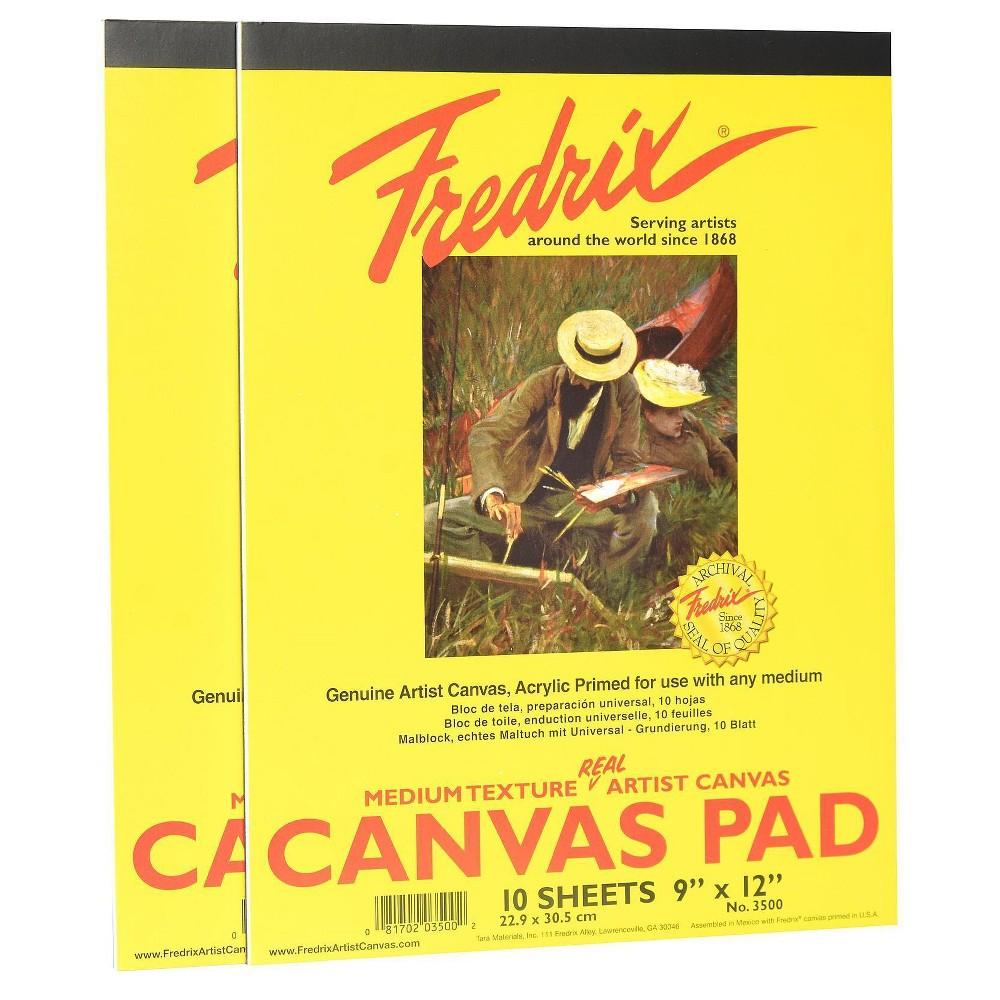 """Image of """"Fredrix Canvas Pads, 9 X 12"""""""" - 2pk"""""""