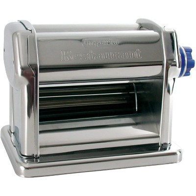 Commercial Grade Pasta Maker by Imperia - Machine for Home or Restaurant Use - Italian 18/10 Stainless Steel