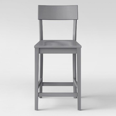 """24"""" Modern Painted Barstool Gray - Project 62™ - image 1 of 4"""