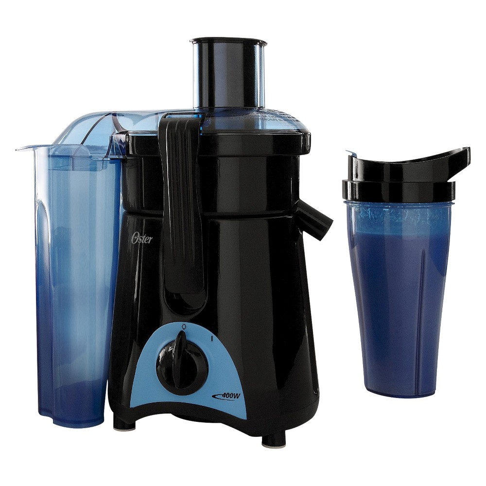 Oster Juice & Blend 2 Go Compact Juice Extractor and Personal Blender, FPSTJE3166-022