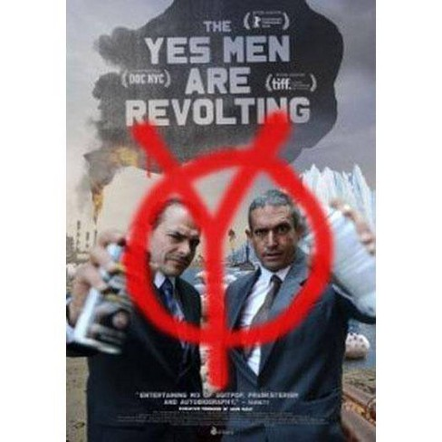 The Yes Men Are Revolting (DVD) - image 1 of 1