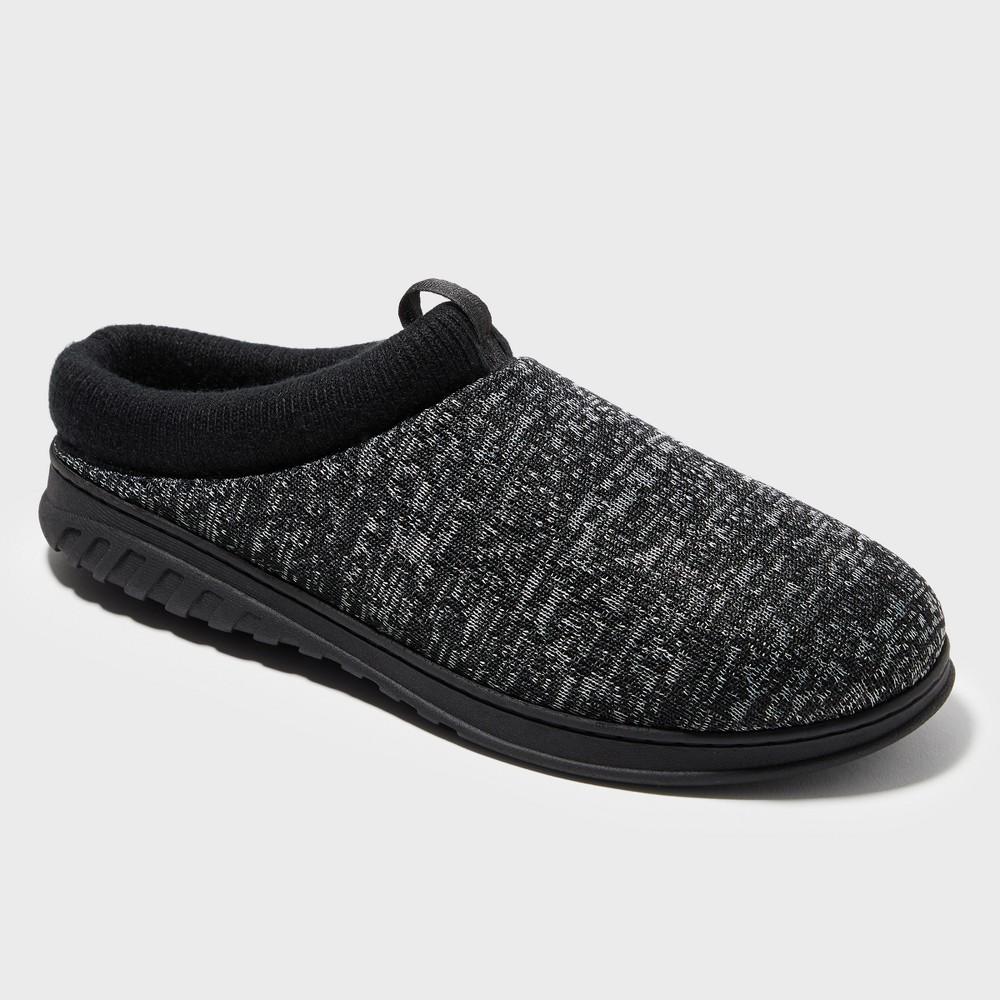 Men's Dearfoams Slide Slippers - Black L