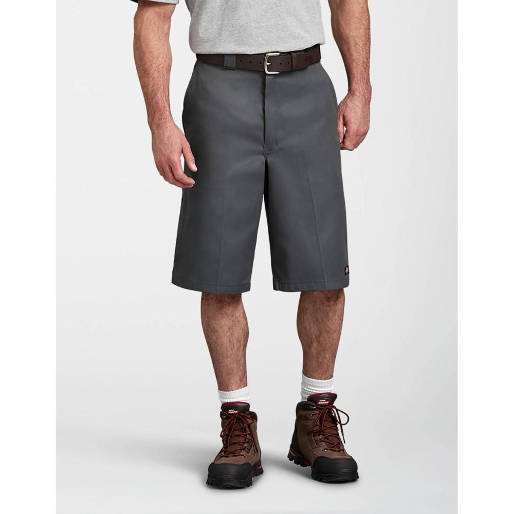 Dickies Men 39 S Big 38 Tall 13 34 Loose Fit Multi Use Pocket Work Short Charcoal 56