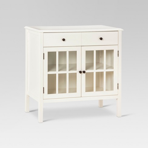 Windham Storage Cabinet With Drawer Shell Threshold Target