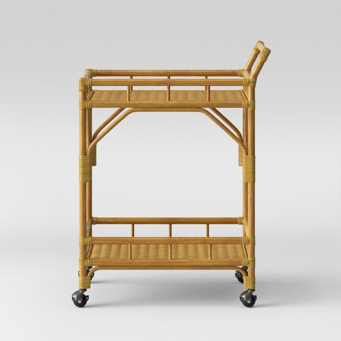 Cassia Rattan Bar Cart - Opalhouse™ - image 1 of 4