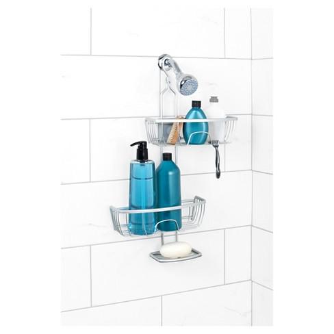 Shower Caddy Satin Chrome - Zenna Home : Target