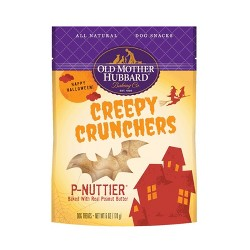 Old Mother Hubbard Creepy Crunchers P-Nuttier Dog Treats – 6 oz