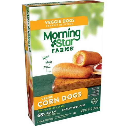 Morningstar Farms Vegan Frozen Veggie Classics Corn Dogs - 10oz/4ct - image 1 of 4