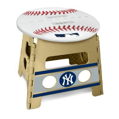 "MLB New York Yankees 13"" Folding Step Stool"