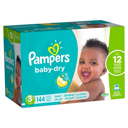 fa4ce6dcce124 Pampers Baby Dry Diapers Giant Pack (Select Size)   Target