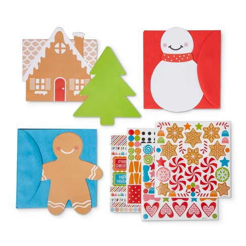 American Greetings 12ct DYI Holiday Greeting Card Set - image 1 of 1