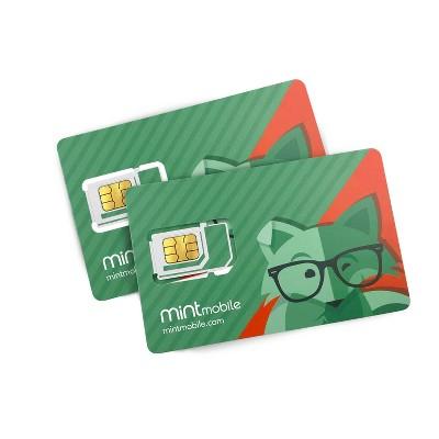 Mint Mobile Cell Phone SIM Card Starter Kit