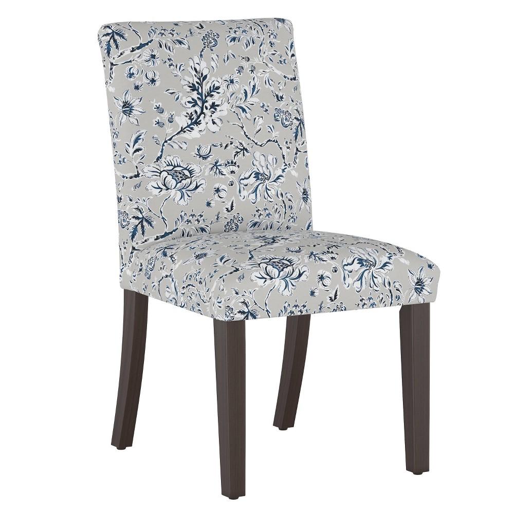 Dining Chair Indian Blockprint Gray Threshold 8482